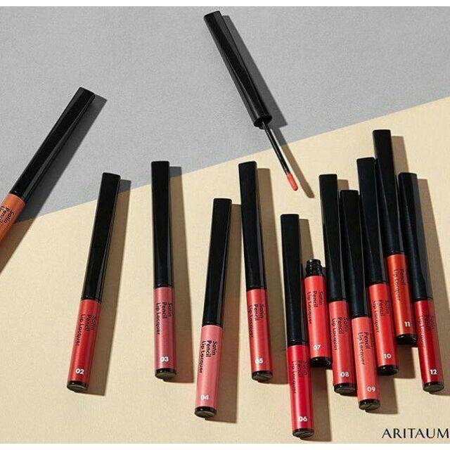 Son ARITAUM Satin Pencil Lip Lacquer siêu đẹp