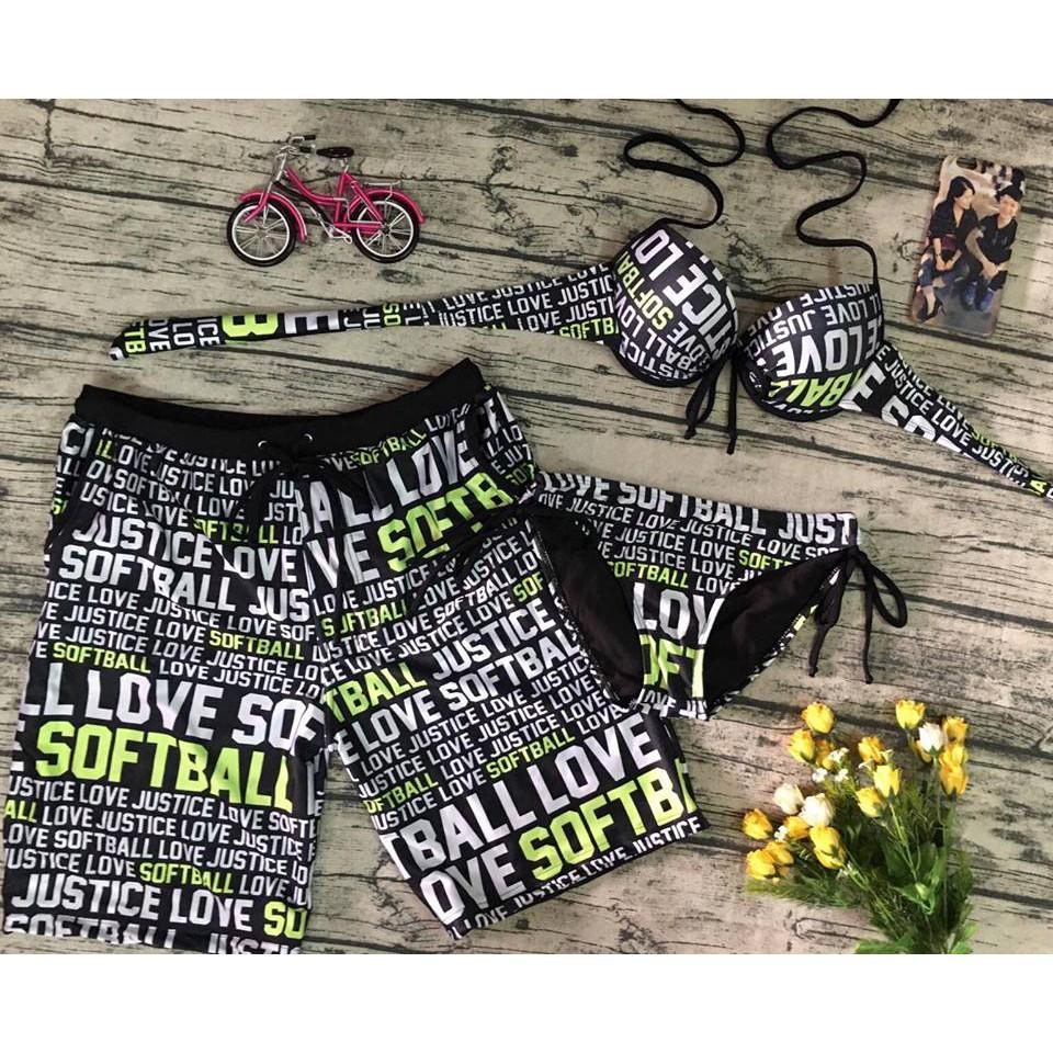 Đồ đôi, đồ cặp đi bơi, đi biển full chữ gồm 1 quần nam và 1 bộ bikini nữ (có xé lẻ), bộ đồ nam nữ - 15010176 , 1906068822 , 322_1906068822 , 250000 , Do-doi-do-cap-di-boi-di-bien-full-chu-gom-1-quan-nam-va-1-bo-bikini-nu-co-xe-le-bo-do-nam-nu-322_1906068822 , shopee.vn , Đồ đôi, đồ cặp đi bơi, đi biển full chữ gồm 1 quần nam và 1 bộ bikini nữ (có x