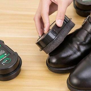 Miếng lau giày, đồ da siêu tốc hộp nhựa