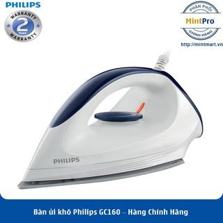 Bàn ủi khô Philips GC160 – Hàng Chính Hãng – Bảo Hành 2 Năm Toàn Quốc