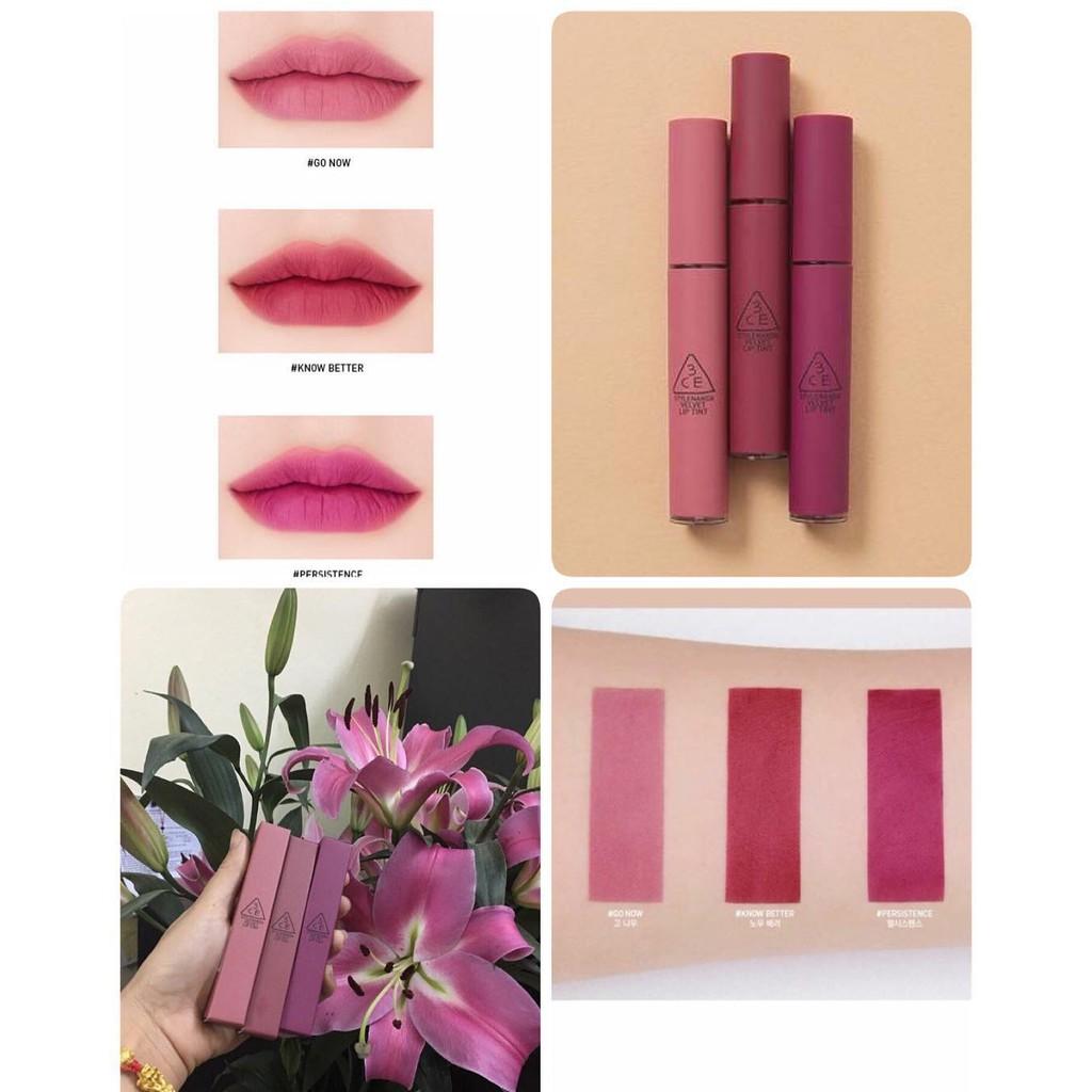 Son kem Velvet Lip Tint 3 màu mới