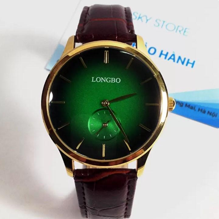 Đồng hồ nam dây da cao cấp thương hiệu LONGBO mặt xanh - 2864989 , 113585413 , 322_113585413 , 400000 , Dong-ho-nam-day-da-cao-cap-thuong-hieu-LONGBO-mat-xanh-322_113585413 , shopee.vn , Đồng hồ nam dây da cao cấp thương hiệu LONGBO mặt xanh
