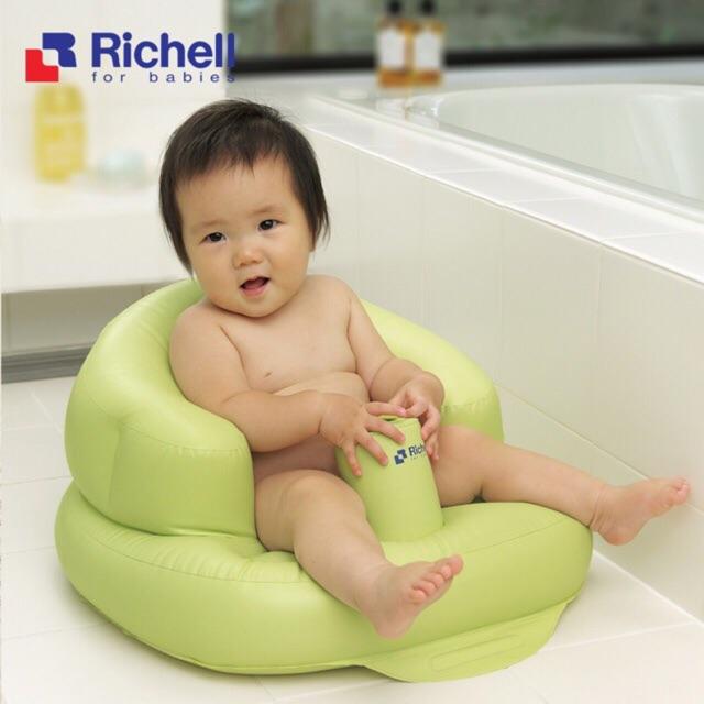 Ghế hơi tập ngồi cho bé Richell Nhật Bản