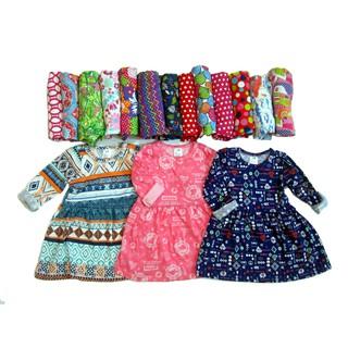 Set 3 váy bé gái HM cotton xuất dư thumbnail