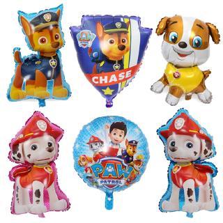 XH Hot Paw Patrol trang trí sinh nhật nhân vật đồ chơi l bóng đồ chơi bên phòng trang trí bong bóng trẻ em gái đồ chơi