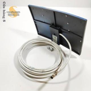 Anten DVB T2 dạng bảng có dây 15m - thu sóng tốt
