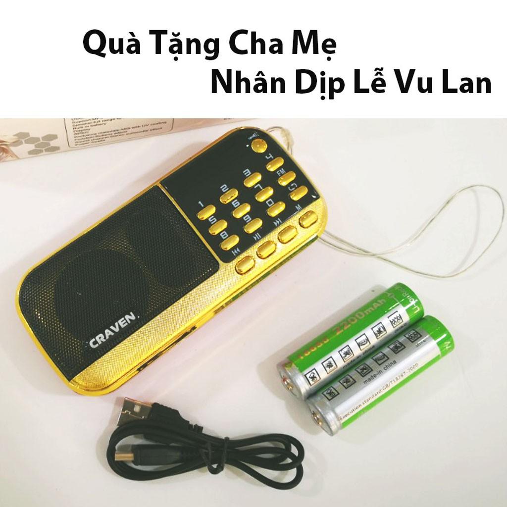 Máy nghe nhac, Loa mini mp3 CR -836s/ 853 nghe thẻ nhớ usb, Đài FM, đọc kinh phật pháp - BH 6 tháng