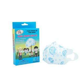 Khẩu trang y tế trẻ em kháng khuẩn 3 lớp Famapro 5D Baby hình (10 cái hộp ) thumbnail