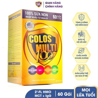Sữa non cho trẻ chậm tăng cân, tiêu hóa kém - Sữa bột Mama Sữa Non Colos Multi 100 date 2023 thumbnail