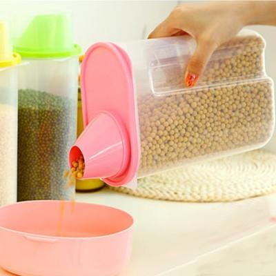 hộp nhựa trong suốt đựng hạt ngũ cốc