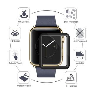 Miếng dán cường lực 3D full màn dành cho Apple watch 38mm