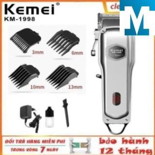Tông đơ cắt tóc chuyên nghiệp ,tăng đơ kemei KM-1998