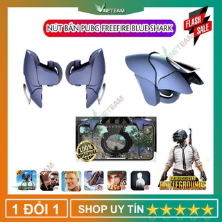(Cực Nhạy) Nút bắn Pubg Freefire Blue Shark - Nút bấm Pubg Phụ kiện chơi Pubg Mobile -dc4111 thumbnail