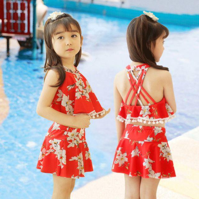 Bikini 2 mảnh, áo tắm, đồ bơi, đồ đi biển cho bé gái - 2979158 , 1187899546 , 322_1187899546 , 289000 , Bikini-2-manh-ao-tam-do-boi-do-di-bien-cho-be-gai-322_1187899546 , shopee.vn , Bikini 2 mảnh, áo tắm, đồ bơi, đồ đi biển cho bé gái