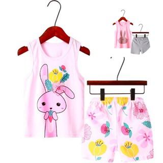 Bộ quần áo trẻ em ba lỗ mùa hè ,đồ bộ bé trai, bộ quần áo thun cho bé chất cotton xuất Hàn Quốc