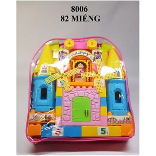 Bộ xếp hình lâu đài ❌ FREESHIP Từ 250K ❌ đồ chơi xếp hình – bộ dồ chơi lắp ghép lâu đài cho bé