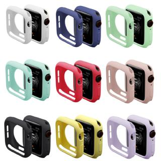 Ốp Silicone Bảo Vệ Cho Đồng Hồ Apple Watch 42mm 38mm 40mm Series 4 5 3 2 1