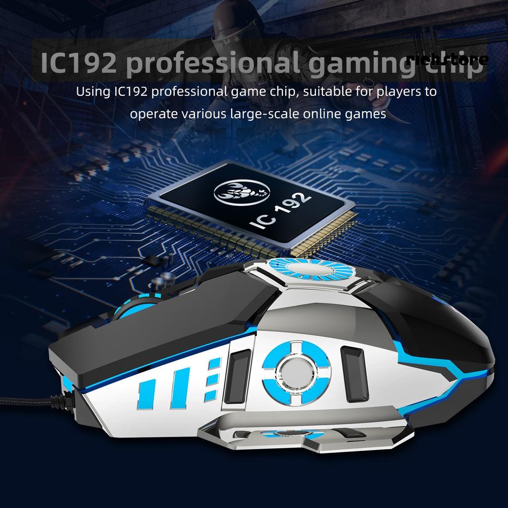 Chuột Gaming Dnws Hxsj J700 Quang Học Có Dây
