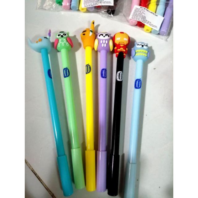 6 cây Bút bi nhựa hìn