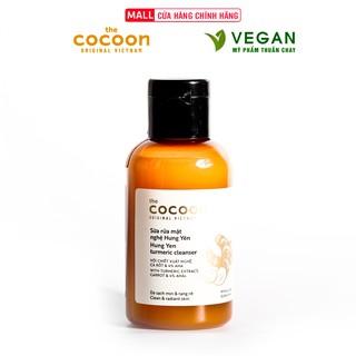Sữa rửa mặt nghệ Hưng Yên cocoon 140ml sáng mịn da Thuần Chay thumbnail