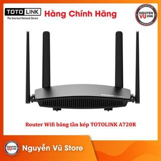 Router Wifi Băng Tần Kép AC1200 TOTOLINK A720R router mạng - Hàng Chính Hãng thumbnail
