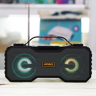 Loa Bluetooth Kimiso 301 Siêu Bass Đèn Led Sống Động – Loa Nghe Nhạc Bluetooth Mini Bass Siêu Trầm Siêu Bền