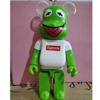 popular Jointly Kermit Frog Action Figure Toy 400% Street Fashion Bearbrick