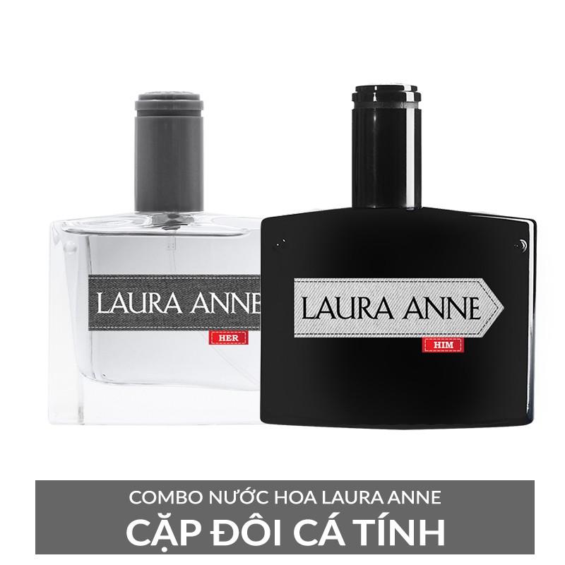 COMBO NƯỚC HOA LAURA ANNE - CẶP ĐÔI CÁ TÍNH