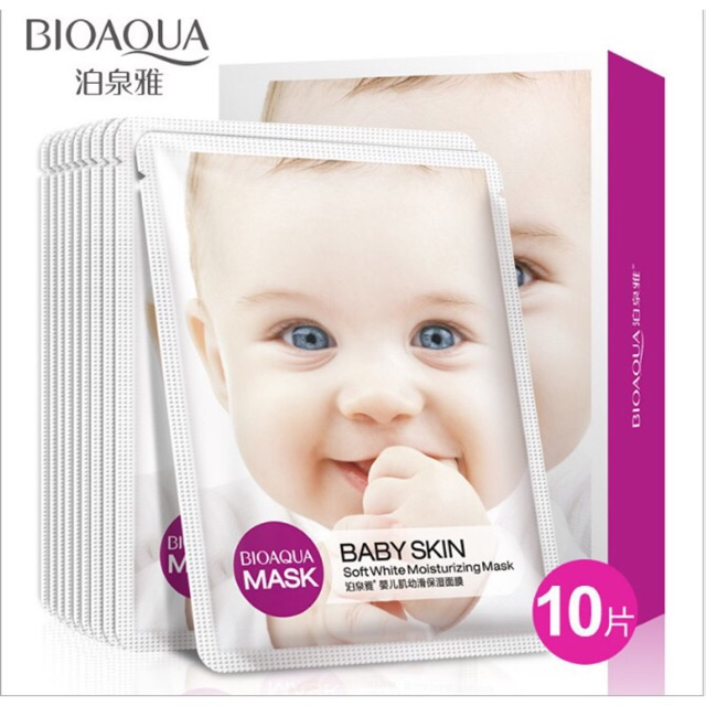 [Sẵn] Set 10 baby hiệu BIOAQUA