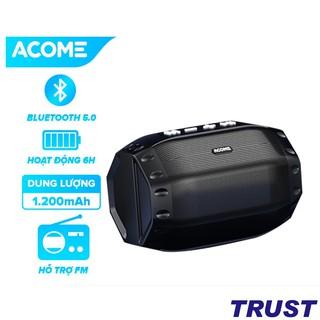 Loa Bluetooth Công Suất 5W ACOME A2 - Hỗ Trợ Kết Nối MicroSD USB Nghe FM - Playtime 6H - BẢO HÀNH 12 THÁNG