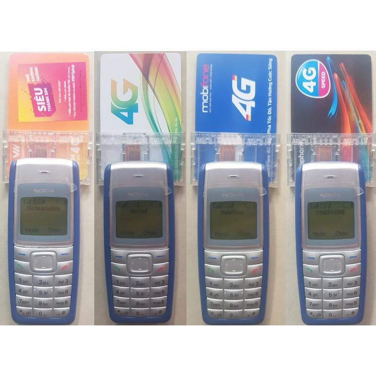 Trọn bộ Điện Thoại Kích SIM + đồ kích sim gắn ngoài chuyên dụng chính hãng Nokia 1110i và Wihua