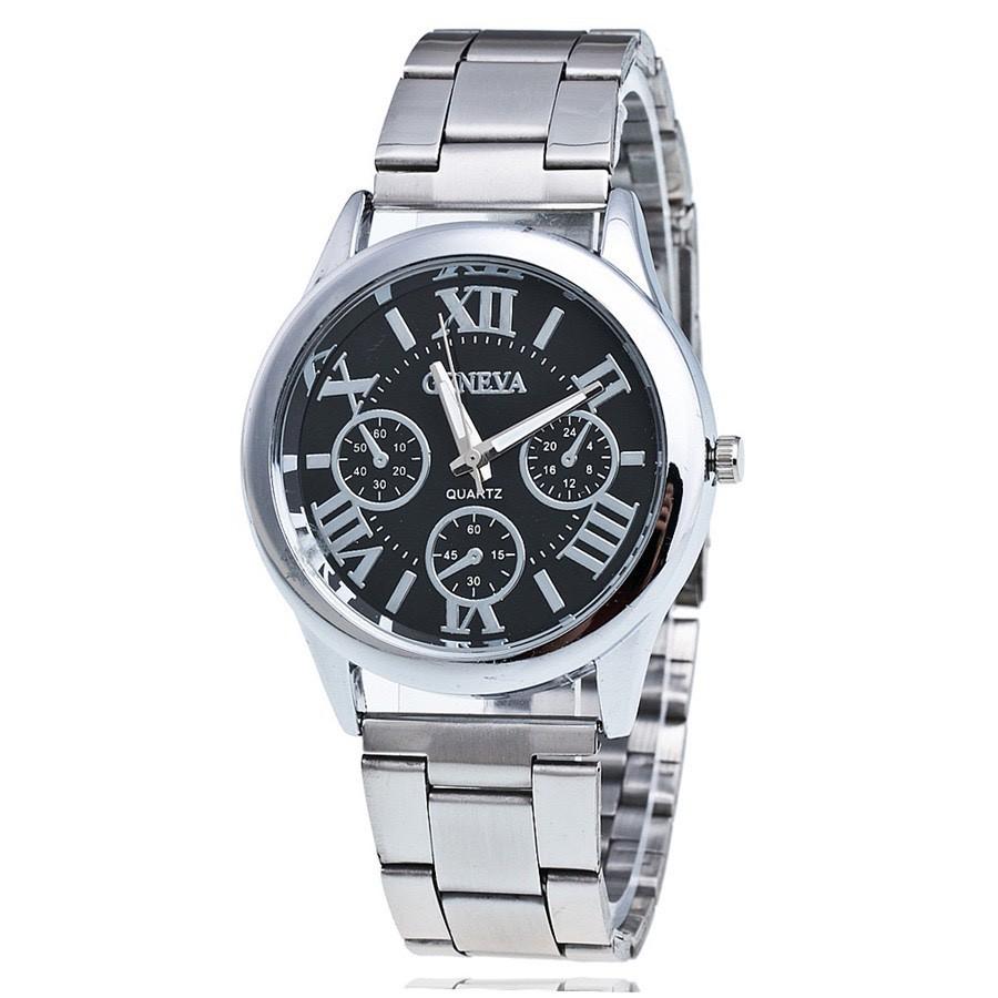 Đồng hồ Bamezo thời trang nam dây kim loại Geneva cực đẹp DH99