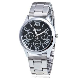 Đồng hồ thời trang nam nữ dây kim loại Geneva cực đẹp DH99