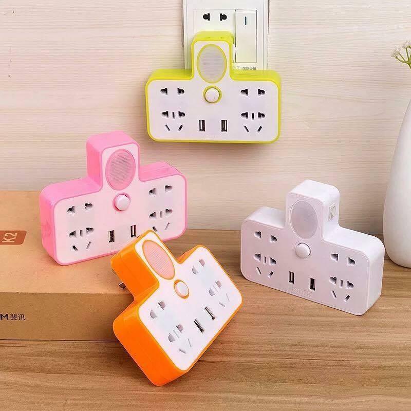 Ổ điện thông minh có cổng USB + kèm đèn ngủ