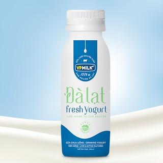 [INBOX TRƯỚC KHI MUA HÀNG] Sữa Chua Uống VPMilk Đà Lạt Fresh Yogurt 200ml