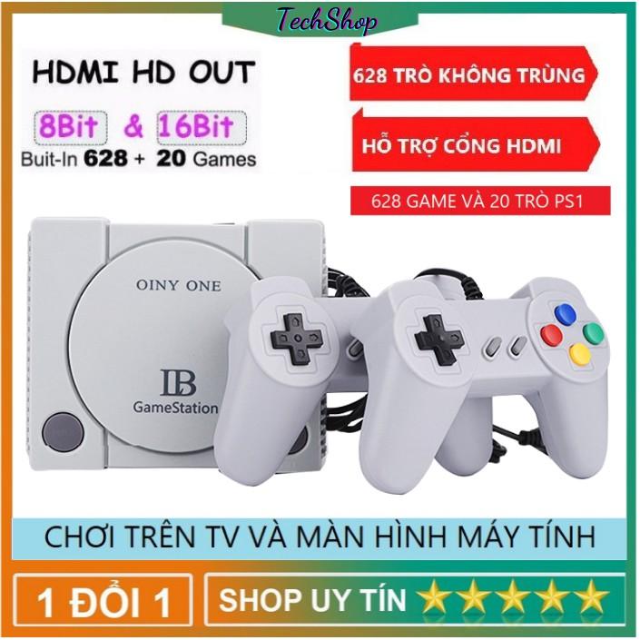 Máy Chơi Game 628 Trò Nes + 20 Trò Mới , Chuẩn HDMI , Playstation , TiVi,PC – HDMI , Phù Hợp Với Mọi Lứa Tuổi [BH 2 Năm]