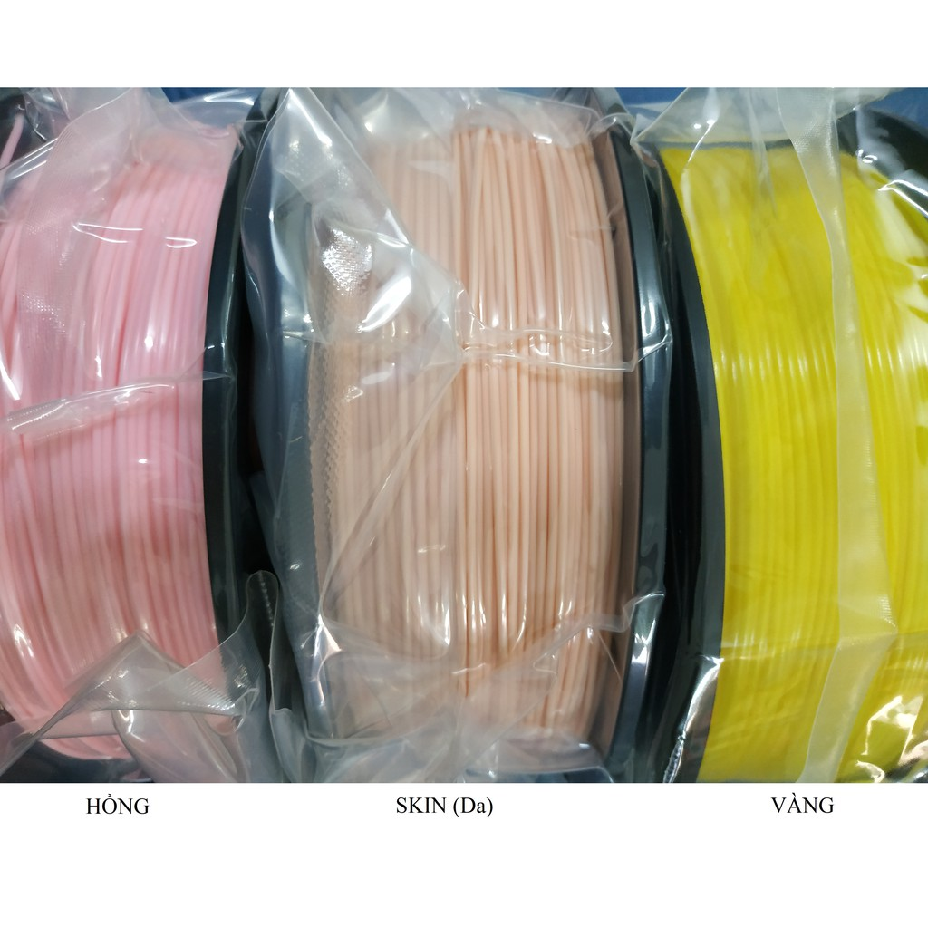 Cuộn nhựa in 3D 1.75mm - PLA 1kg chính hãng