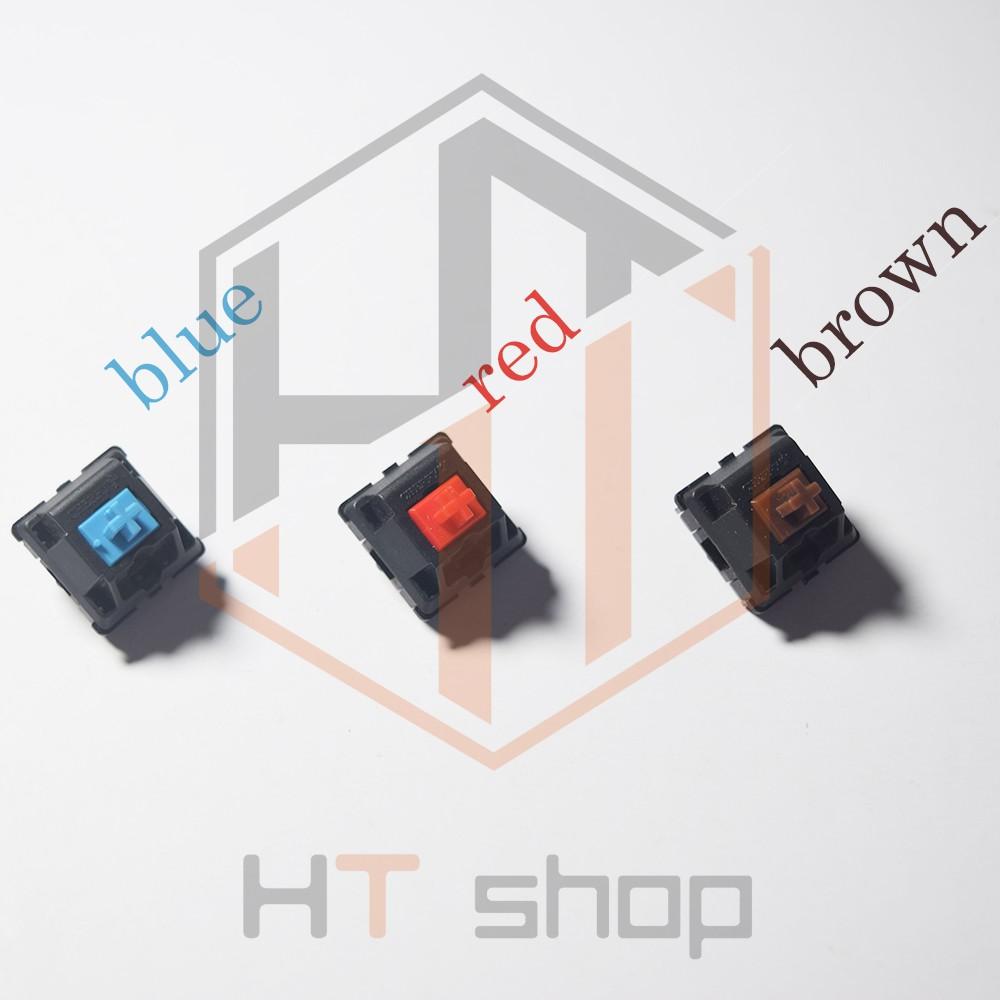 Switch bàn phím cơ Cherry Switch Blue Brown Red