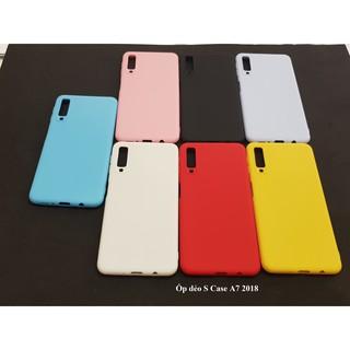 [ComBo Cực Shock ] Ốp Dẻo S Case Nhiều Màu Sắc Dành Cho Máy Samsung A7 2018