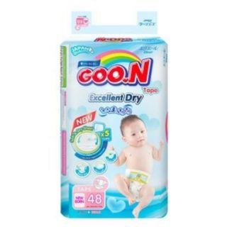 Tã dán Goon slim size NB48