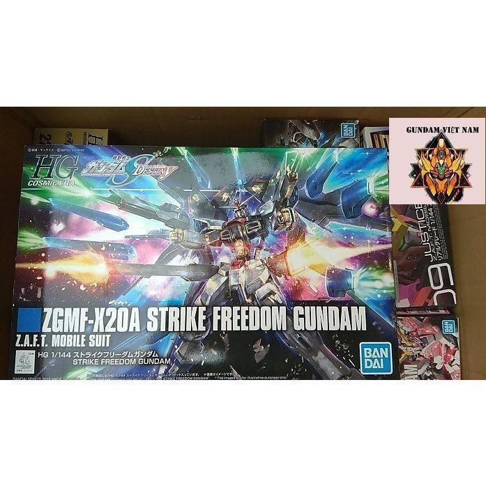 Mô hình đồ chơi gundam zgmf-x20a strike freedom gundam
