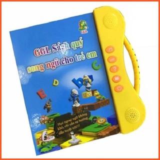[RẺ VÔ ĐỐI] Sách Nói Điện Tử Song Ngữ Anh- Việt Giúp Trẻ Học Tốt Tiếng Anh, TĂNG KHẢ NĂNG NHẬN BIẾT CHO TRẺ