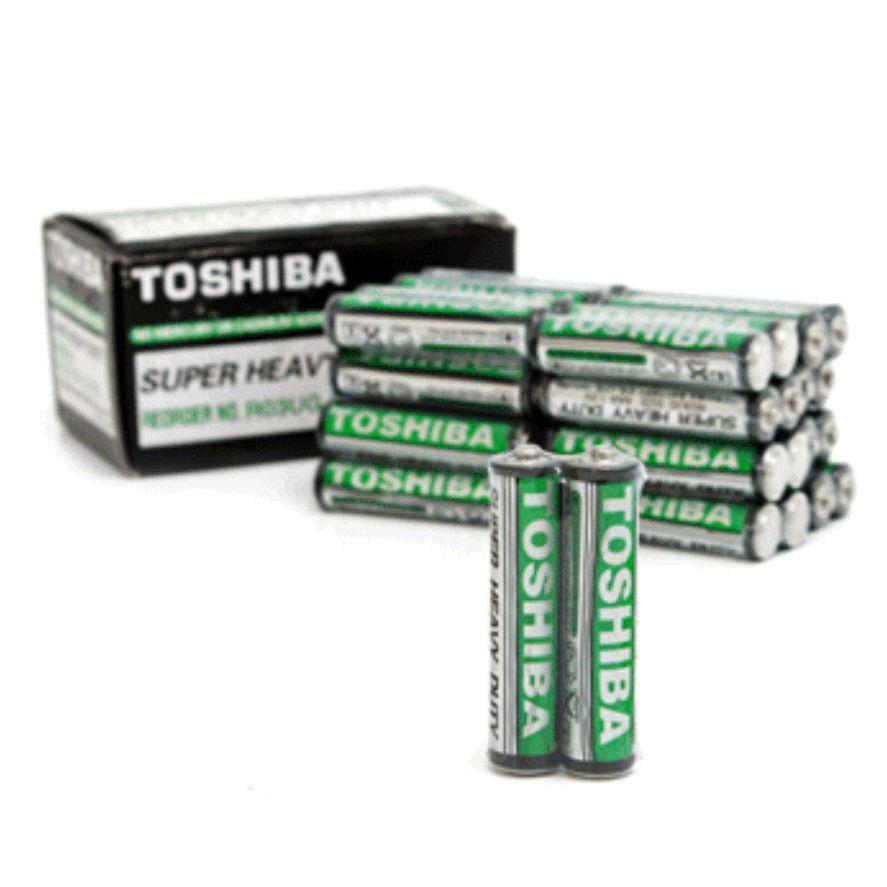 Một hộp pin 3A Toshiba (40 viên pin AAA).