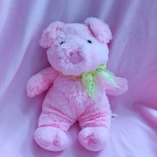 Gấu bông heo hồng