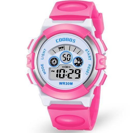 Đồng hồ trẻ em Cooboss 0919 ( Có 4 màu lựa chọn )