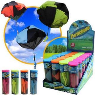 20″ Kid Children Tangle Free Toy Parachute Kite Outdoor Play Game Figure Bear