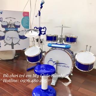 Bộ trống Jazz Drum 10 chi tiết cho bé