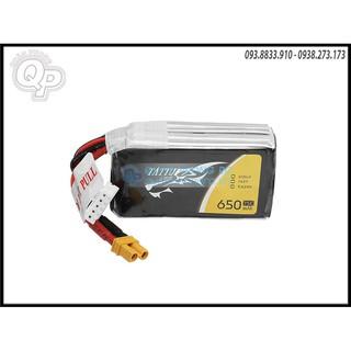 Pin Tattu 14.4V – 650mAh – 75C jack xt30