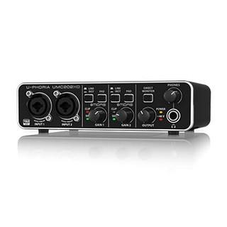 [Mã ELMS3TR giảm 7% đơn 2TR] Sound card thu âm Behringer U-PHORIA UMC202HD