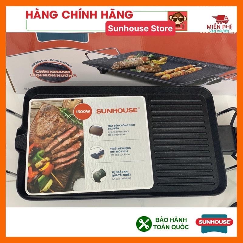 Bếp nướng điện SUNHOUSE SHD4607, tốc độ nhanh, tiết kiệm điện năng